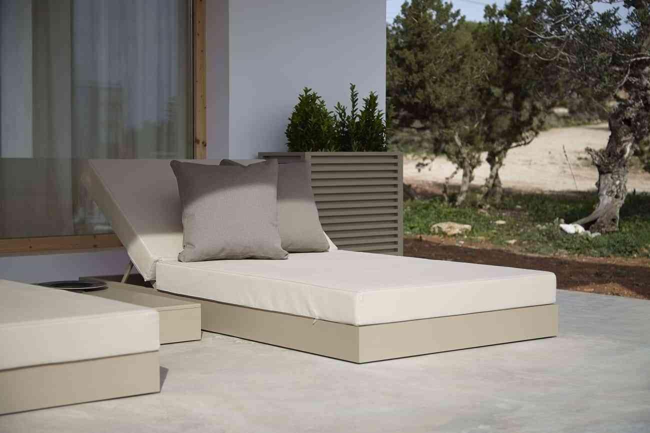 Cama de diseño Chill para un descanso a la Mediterránea 4