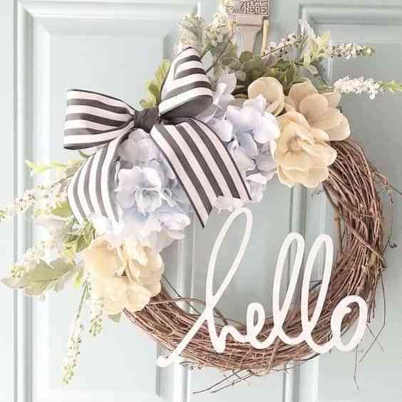 Decoración primaveral para hacer tu mismo. Hello spring!