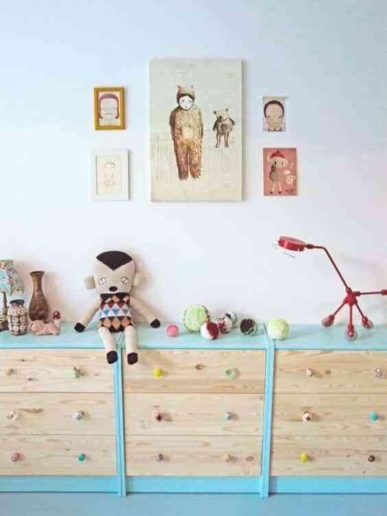 10 formas de pintar la cómoda Rast de Ikea para volver a estrenarla 1
