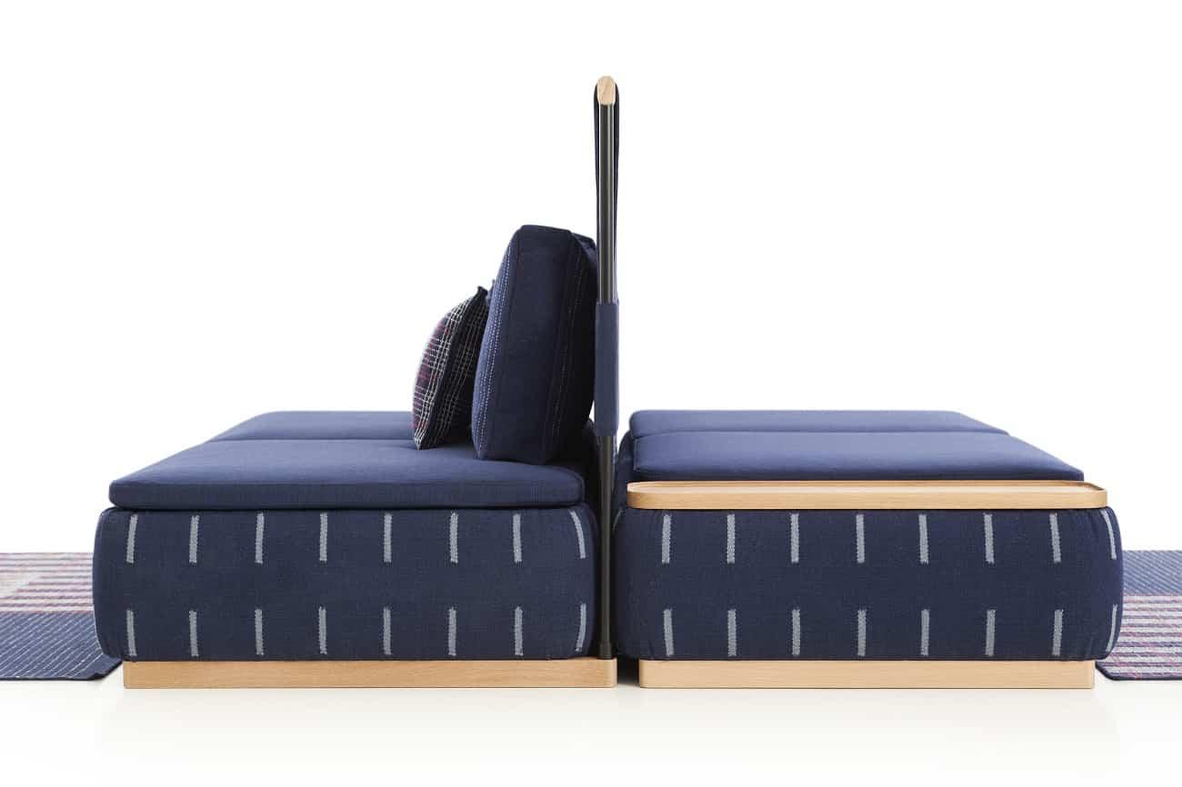 Lan, un sofá con un diseño muy novedoso