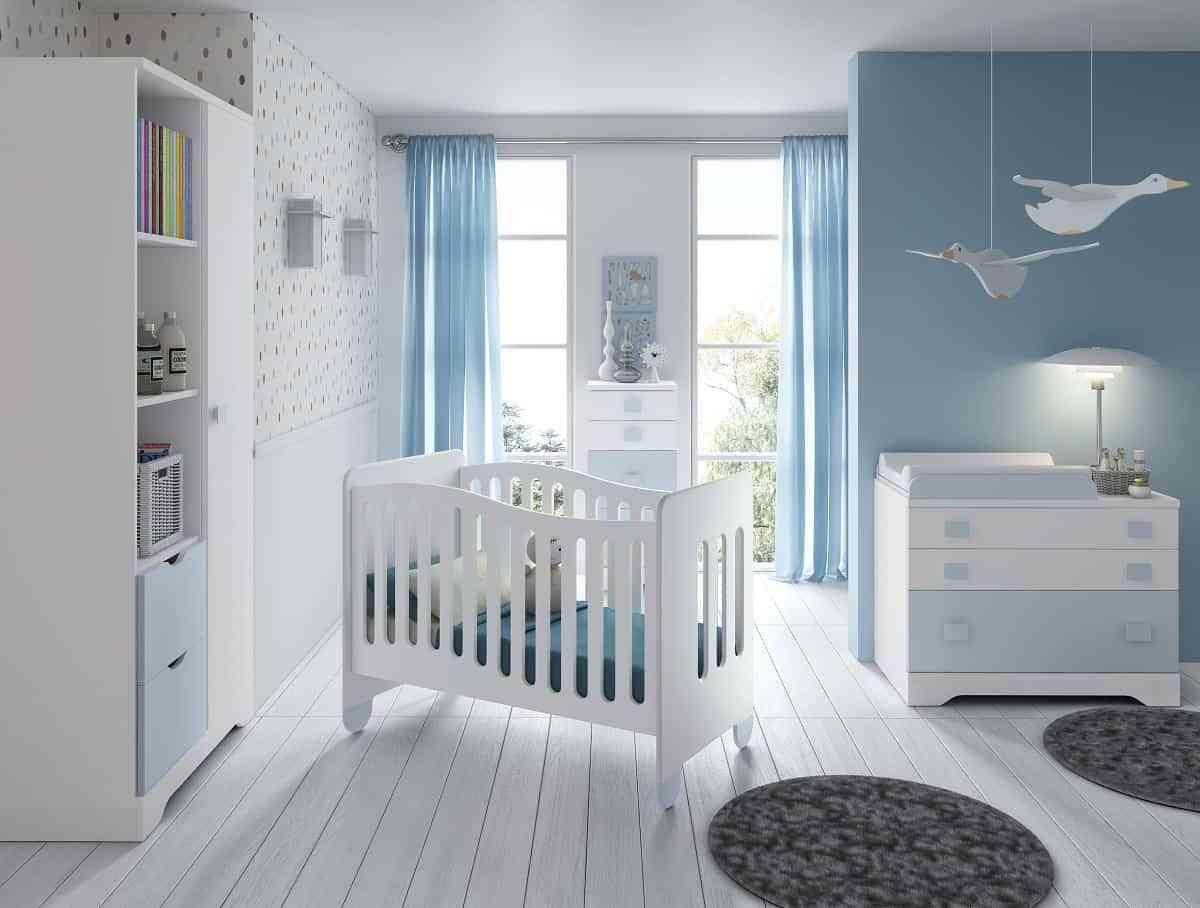 La cuna del bebé, la base del dormitorio infantil 2