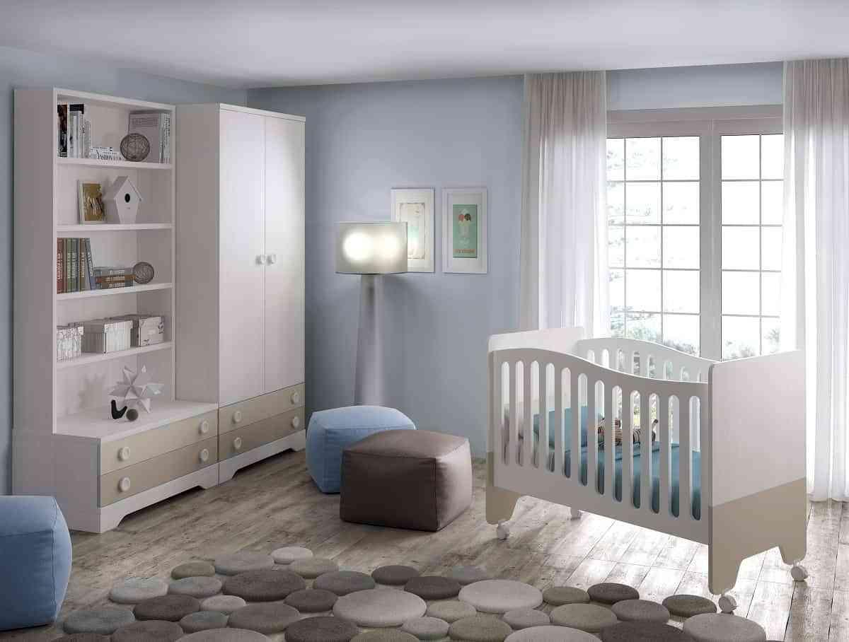 La cuna del bebé, la base del dormitorio infantil 3