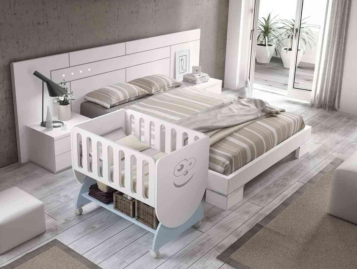 La cuna del bebé, la base del dormitorio infantil 1