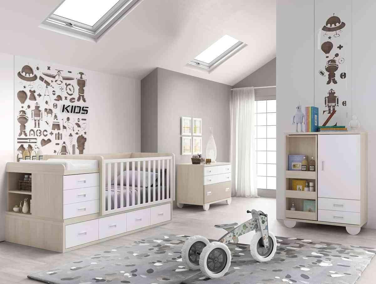 La cuna del bebé, la base del dormitorio infantil 4