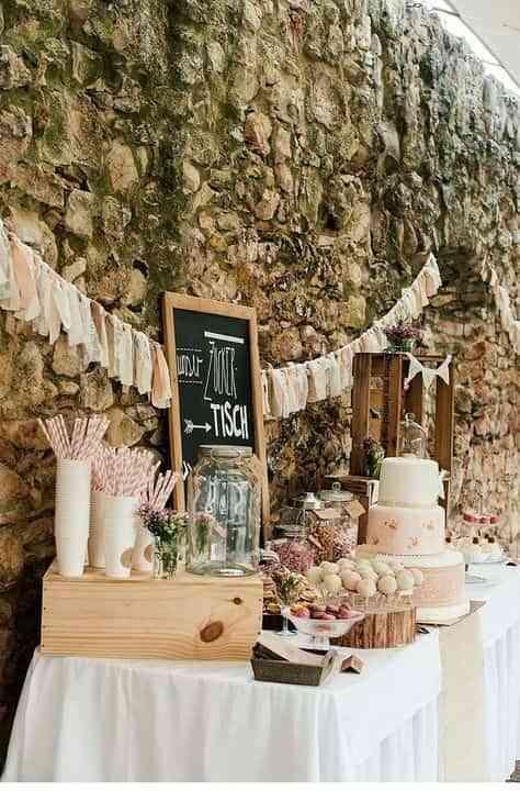 decoración de boda VII