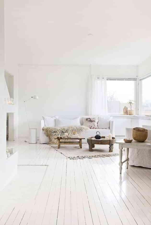 decorar blanco el salon VII