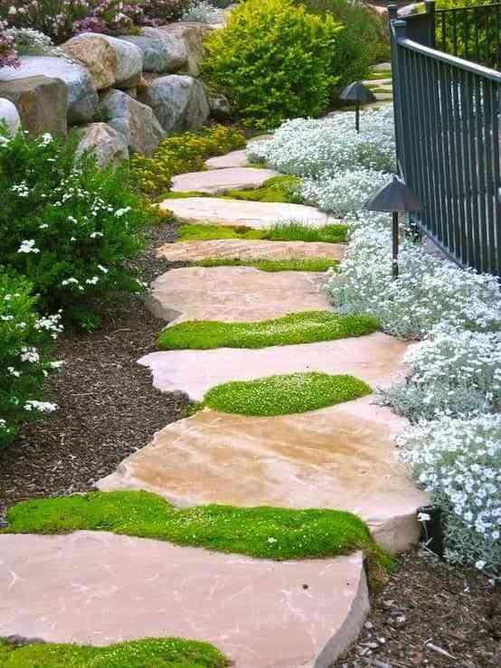 caminos de jardin originales VII