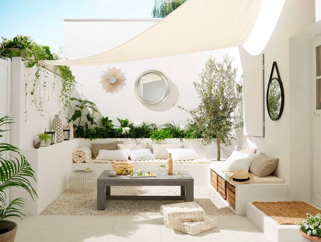 crear sombra en la terraza IV