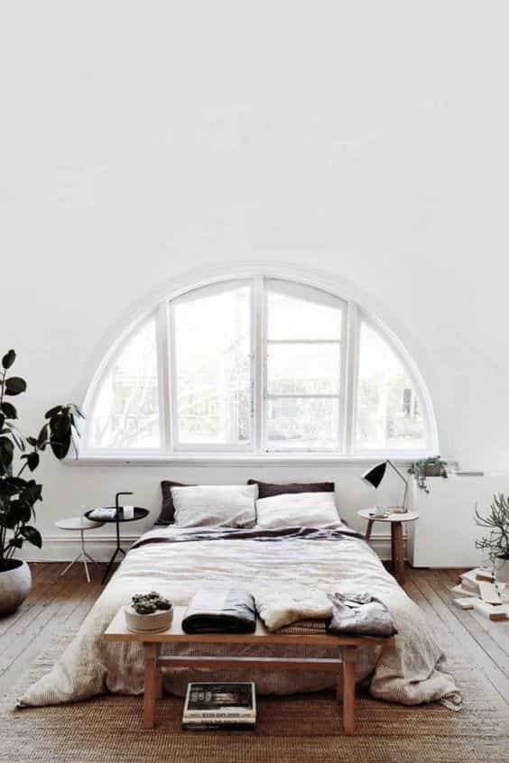 ventana como cabecero