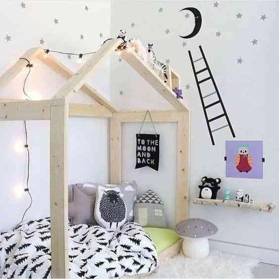 dormitorios infantiles de estilo nordico IV
