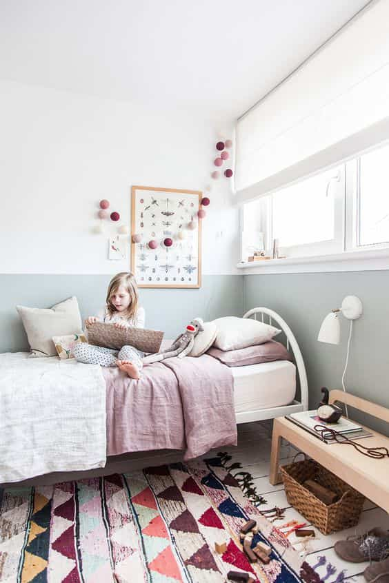 dormitorios infantiles de estilo nordico IX