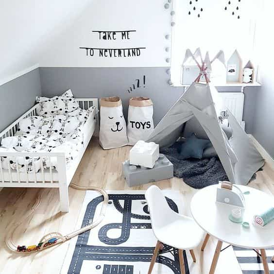 dormitorios infantiles de estilo nordico V
