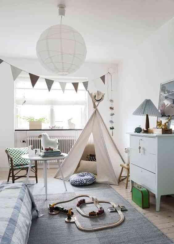 dormitorios infantiles de estilo nordico VI