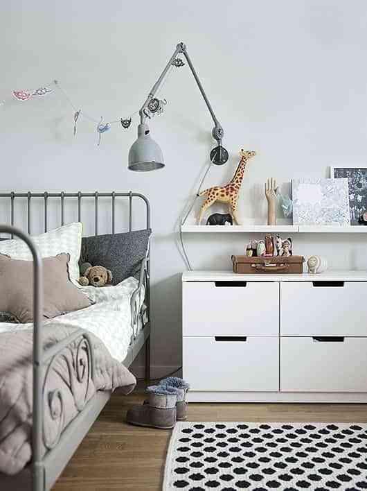 dormitorios infantiles de estilo nordico VIII
