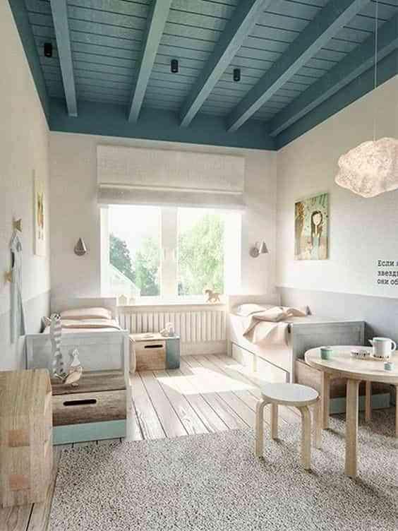 dormitorios infantiles de estilo nordico