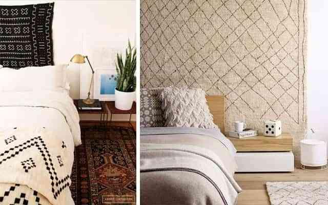 paredes con tapetes VI