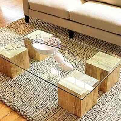 mesas de centro originales II