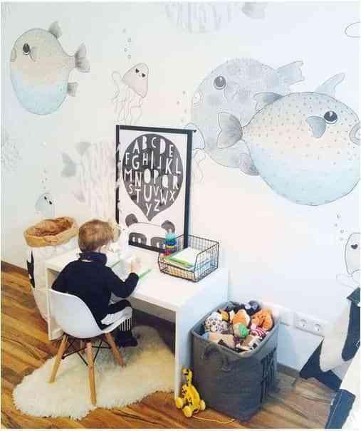 dormitorios infantiles con papel pintado IV