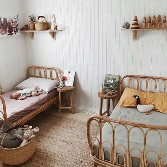 dormitorios infantiles con papel pintado IX