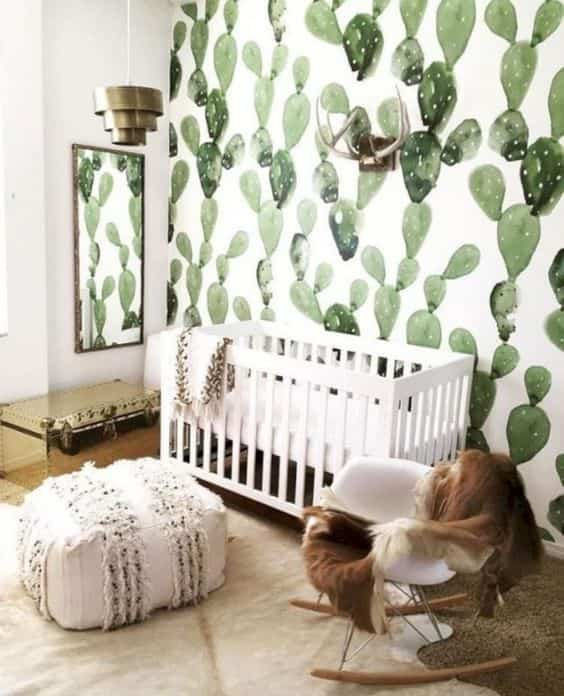 dormitorios infantiles con papel pintado VIII