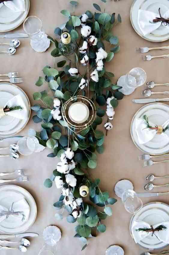 decorar con eucalipto V