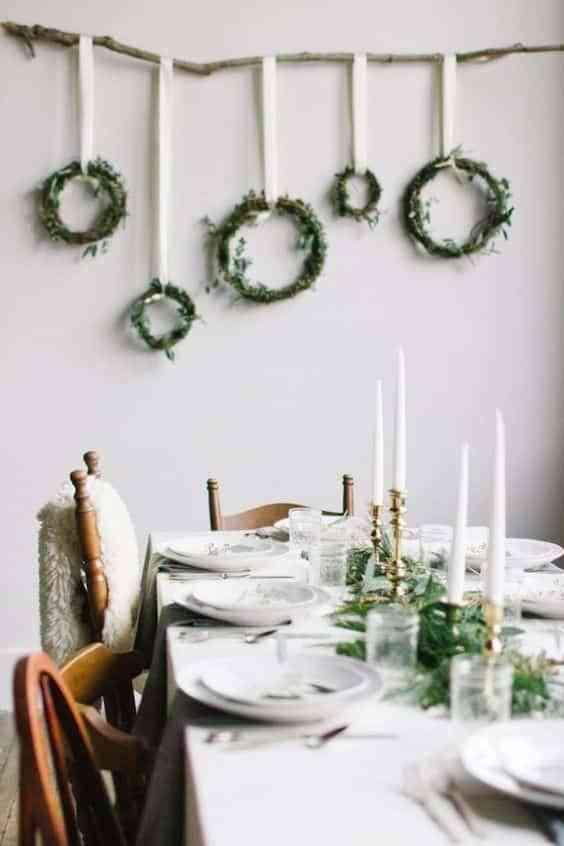 decorar las paredes en Navidad II