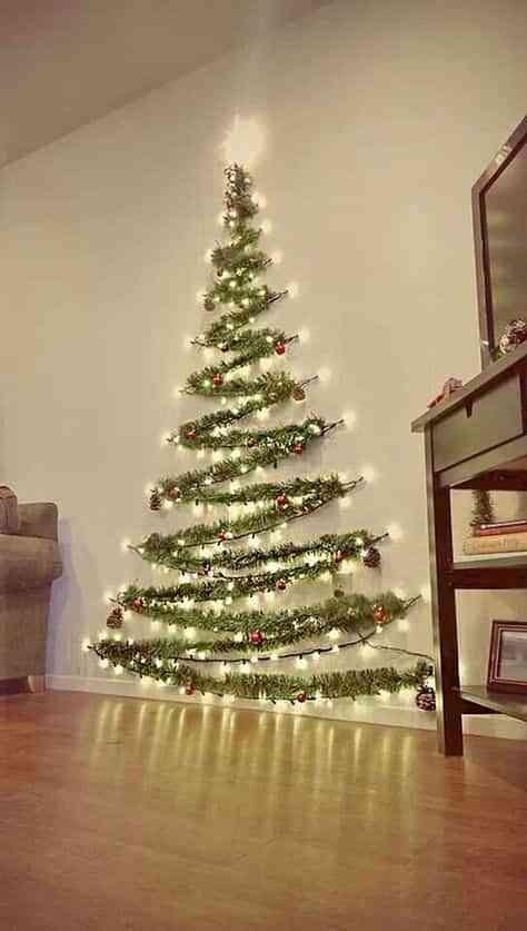 decorar las paredes en Navidad III