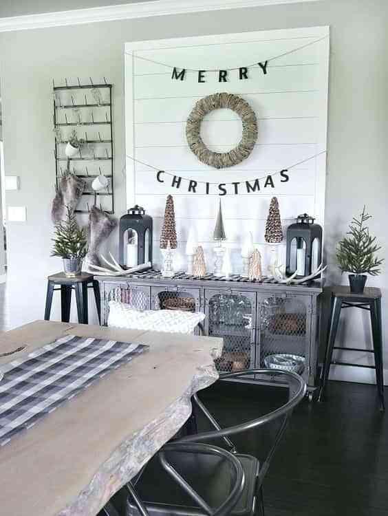 decorar las paredes en Navidad IX