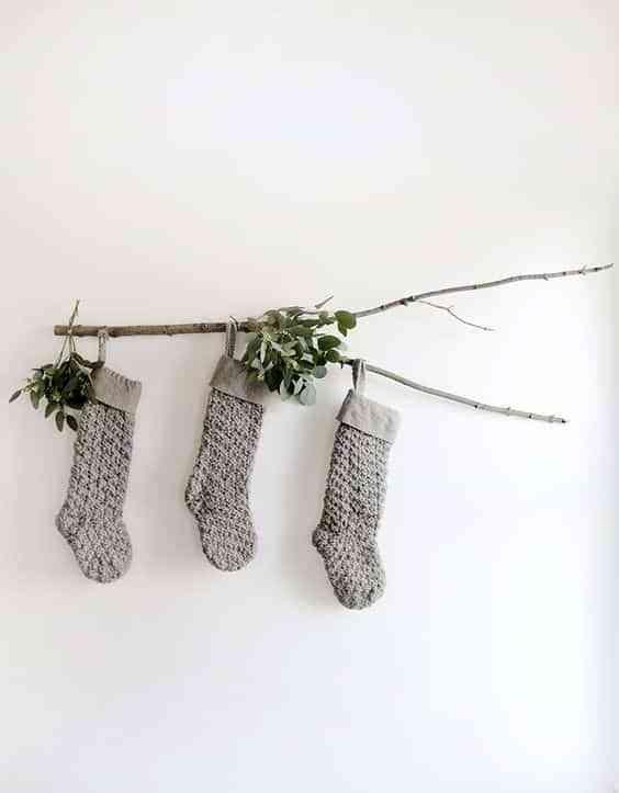 decorar las paredes en Navidad VII