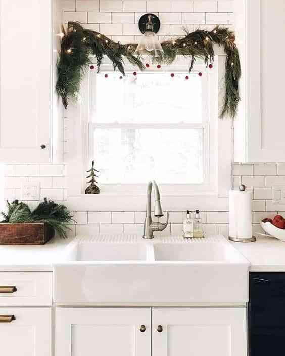 decorar las paredes en Navidad X