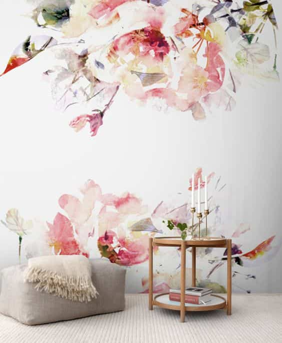decorar con papel pintado III
