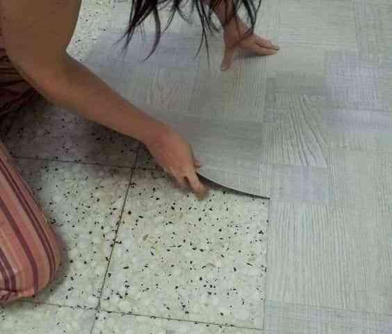 cambiar el suelo sin obras VI