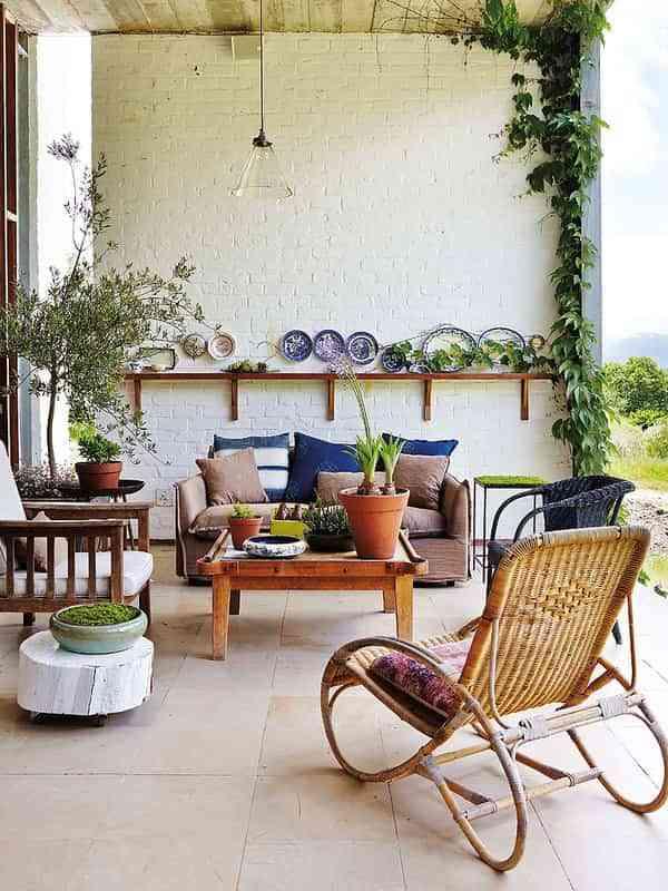 Ideas para decorar el porche ¡y comenzar a disfrutar del exterior!