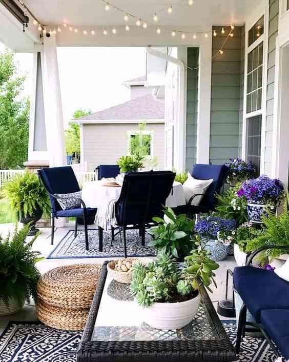 decorar el porche VI