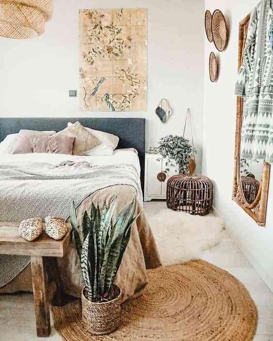 decorar los pies de la cama V