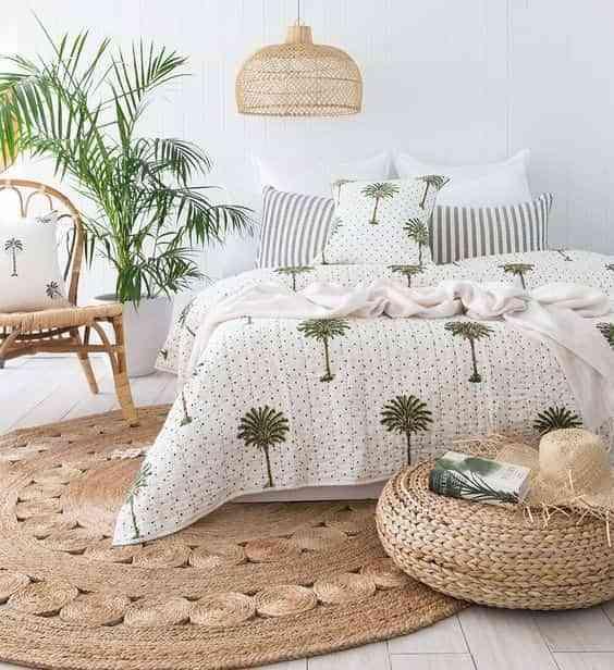 decorar los pies de la cama VI