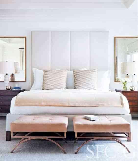 decorar los pies de la cama VII