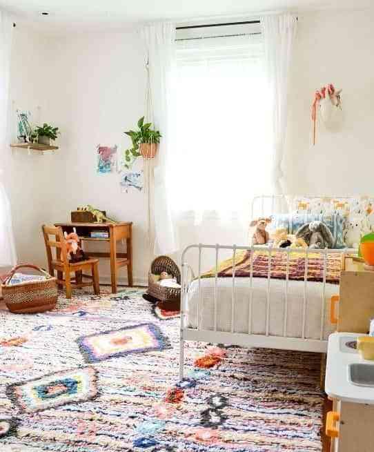 dormitorios infantiles de estilo boho III