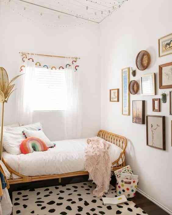 dormitorios infantiles de estilo boho VI