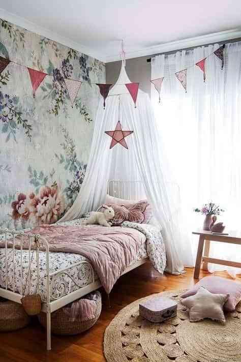 dormitorios infantiles de estilo boho VIII