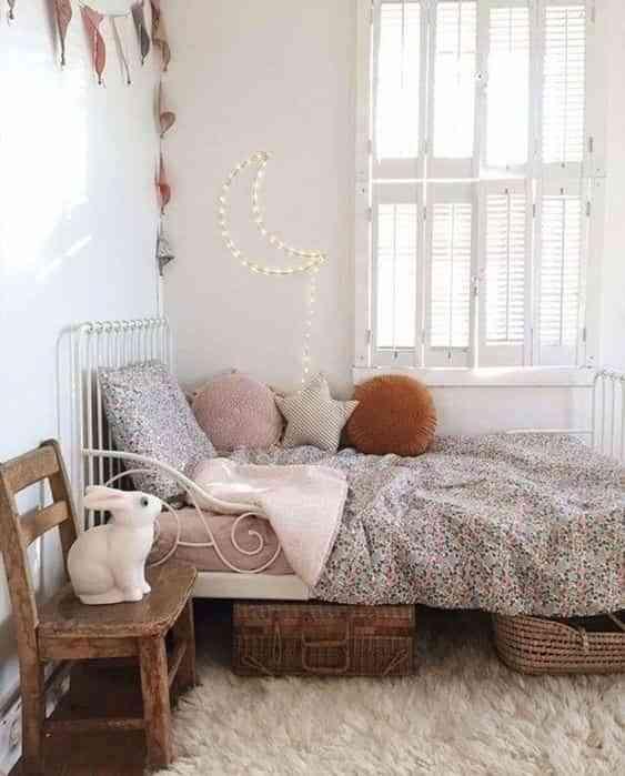 dormitorios infantiles de estilo boho IV