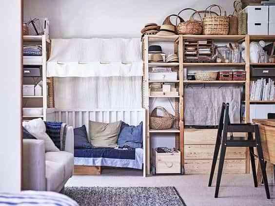 estanteria IVAR de Ikea V