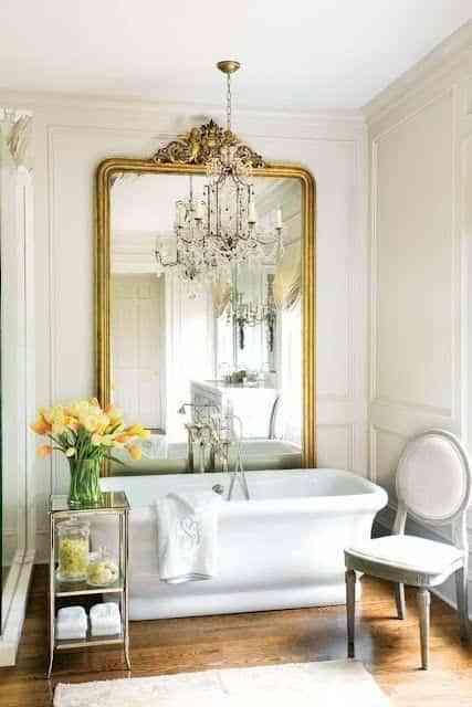 decorar con espejos grandes V