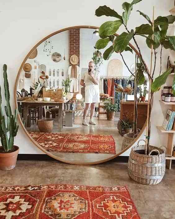 decorar con espejos grandes