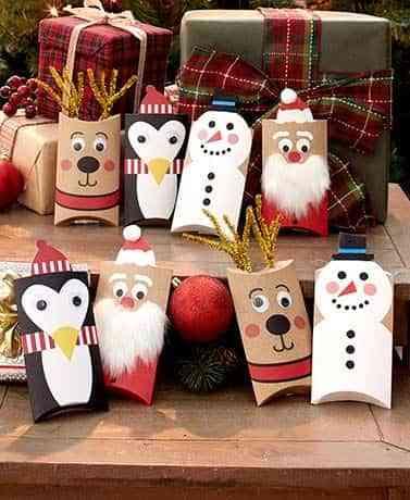 envolver regalos con ninos VII