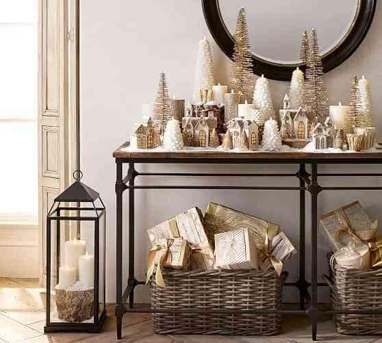 blanco y dorado en Navidad II