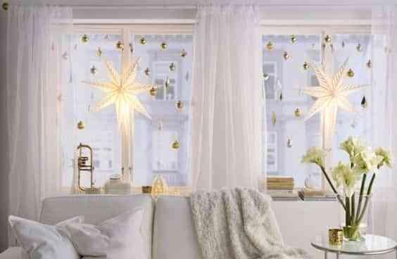 blanco y dorado en Navidad IV