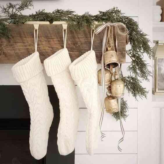 blanco y dorado en navidad VII