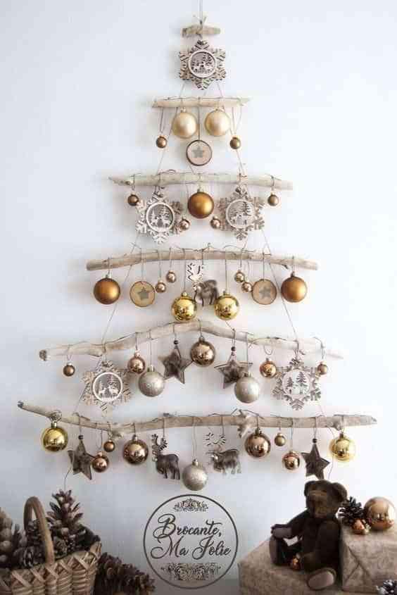 blanco y dorado en Navidad VIII