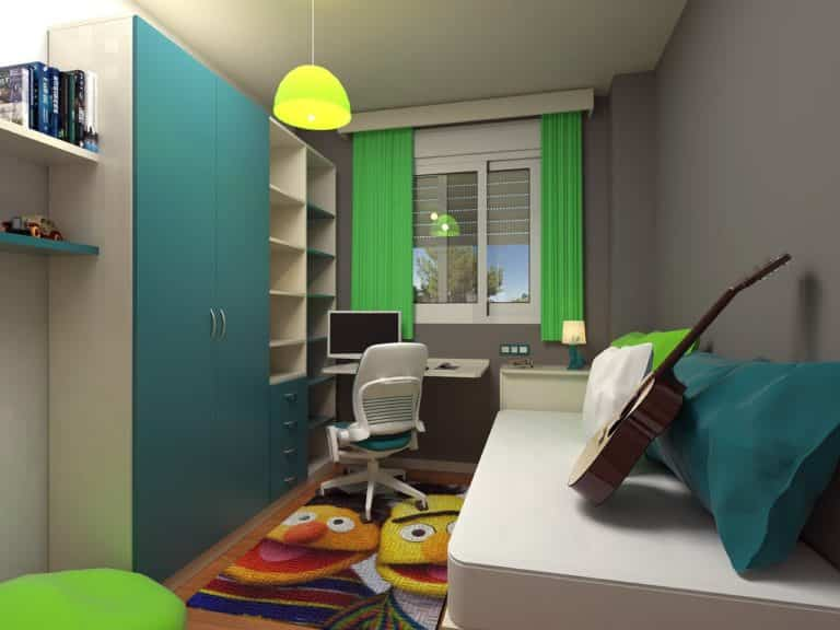 Consejos para decorar dormitorios juveniles pequeñas
